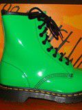Doc Martens vernies vertes. Pt39.(neuves) vendues