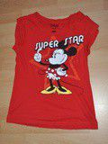 T-shirt Mickey rouge berhska