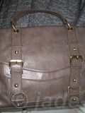 Sac Cartable topshop taupe neuf - Grand modèle