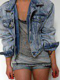Veste en jeans Vintage rock it