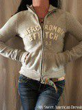 Sweat gilet zip Abercrombie