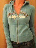 Sweat hoodie stretch Hollister 95% coton,