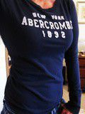 Tee shirt manches longues Abercrombie
