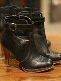 Bottines cuir André T37 : 30 eur
