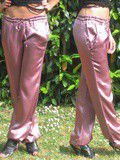 Pantalon Satin Rose
