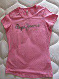 T-shirt rose Pepe Jeans